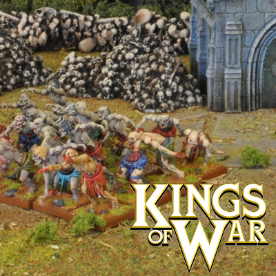 Kings Of War Undead Miniatures