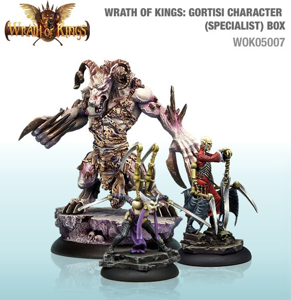 Gortisi Character (Specialist) Box 32mm, Cool Mini Or Not
