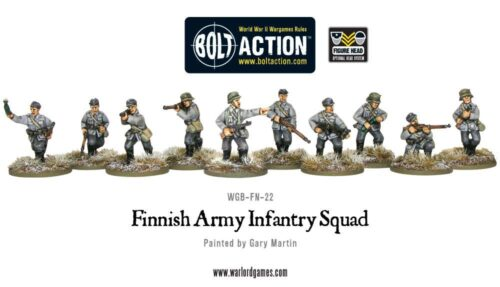 Finnish Army Units for Bolt Action