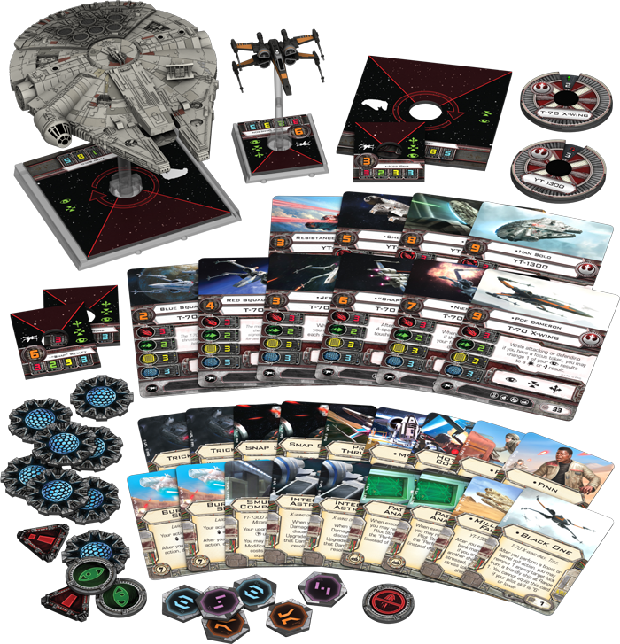 Heroes of the Resistance Expansion Pack: X-Wing Miniatures Game. The Force Awakens
