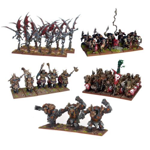 Kings Of War Abyssal Dwarf Army 2nd Edition