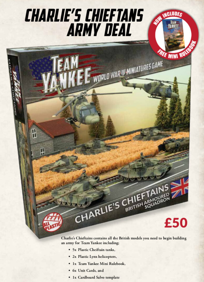 Team Yankee British Army Deal