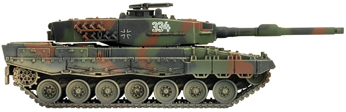 Plastic Team Yankee Leopard 2 Tanks Models