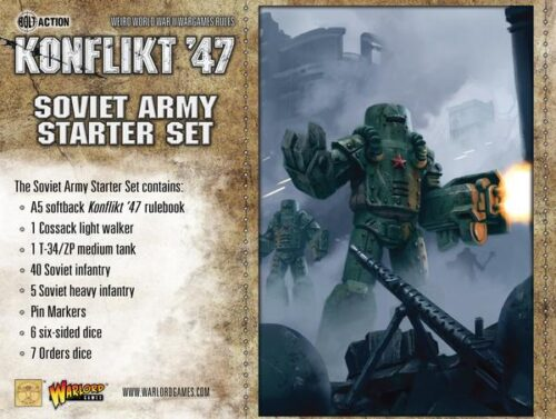 Konflikt 47 M4A9-T Sherman with Tesla Cannon - Empire Game Store