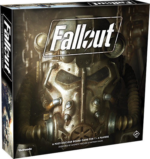 Fallout Board Game Box