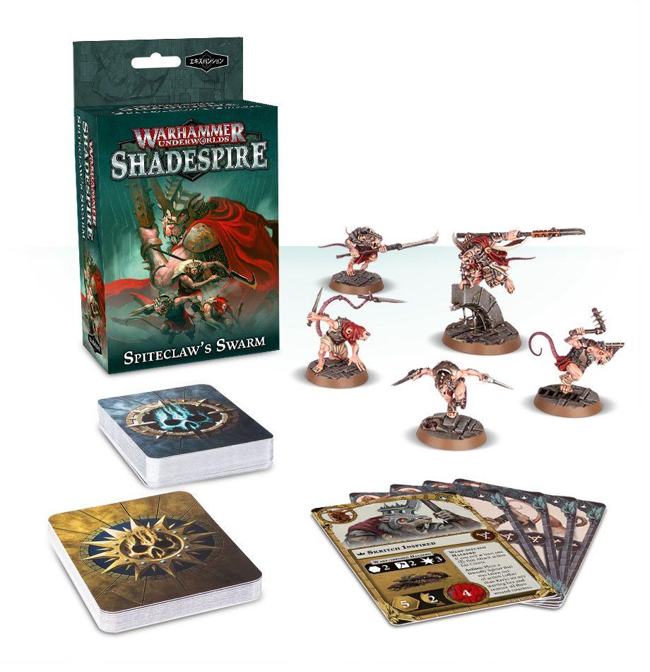 Warhammer Underworlds: Shadespire – Spiteclaw's Swarm Skaven Warband