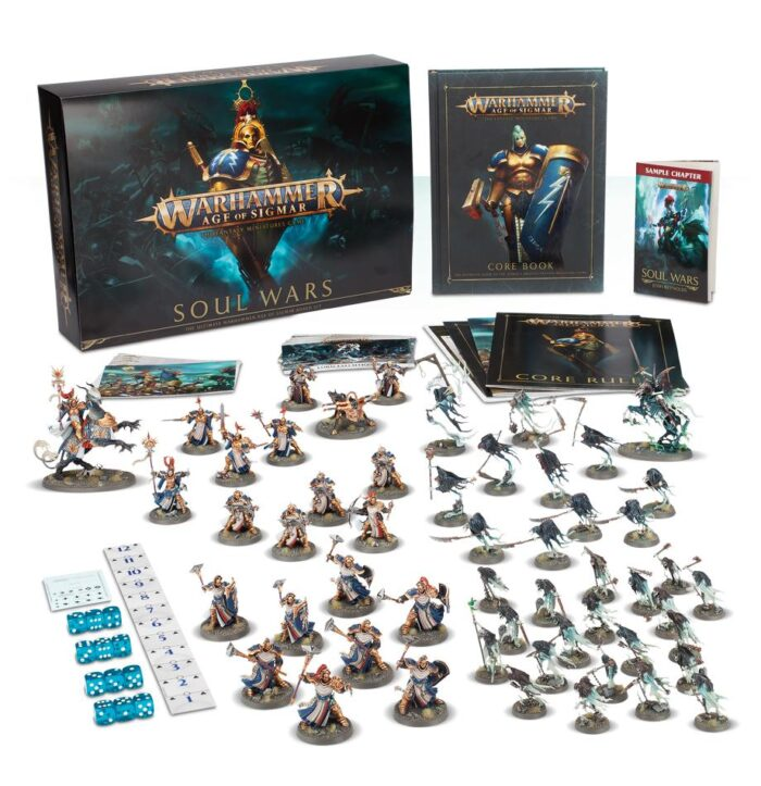 Age Of Sigmar: Soul Wars Warhammer Box Set