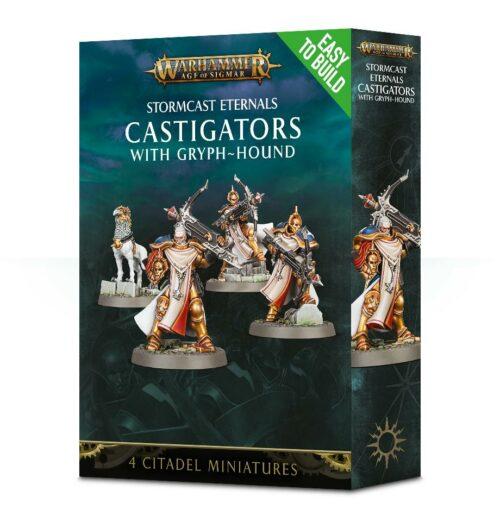 Warhammer Stormcast Eternals Castigators with Gryph Hound
