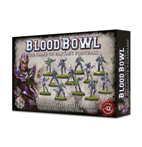 Blood Bowl: Dark Elf Team: Naggaroth Nightmares