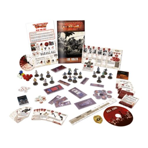 The Walking Dead All Out War Core Set Skirmish Game