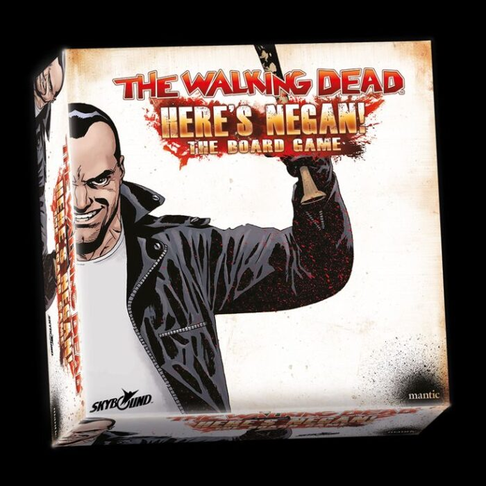 Here's Negan Boardgame