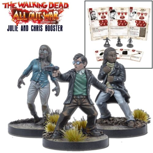 The Walking Dead Julie and Chris Booster