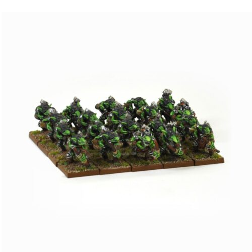 28mm Kings Of War Goblin Spitters Regiment