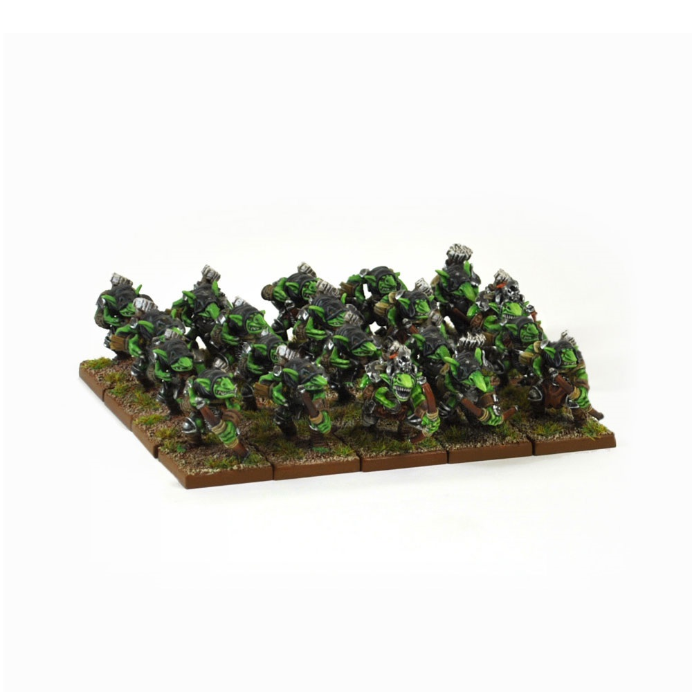 28mm Kings Of War Goblin Spitters Regiment