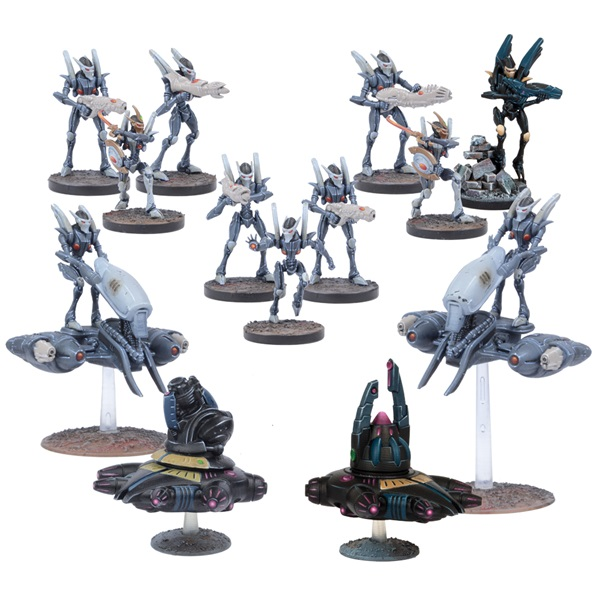 Deadzone Asterian Faction Booster 2017
