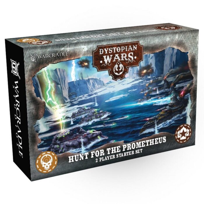 Dystopian Wars: Hunt for the Prometheus Box Art