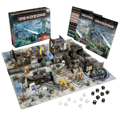 Deazone 3.0 starter set. 3rd edition starter from Mantic Games