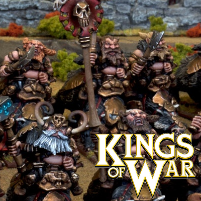 Kings of War Dwarf Miniatures