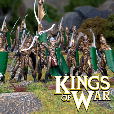 Kings Of War Elf Miniatures