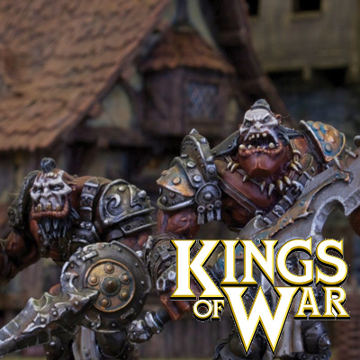 Kings Of War Ogres Miniatures