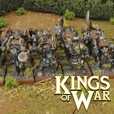 Kings Of War Orc Miniatures