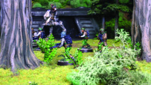 Star Wars Legion Game In Play - Endor