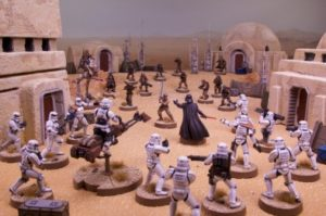 Star Wars Legion Game In Play - Tattooine