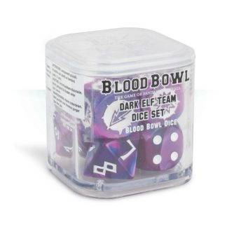 Games Workshop Blood Bowl Dark Elf Dice set